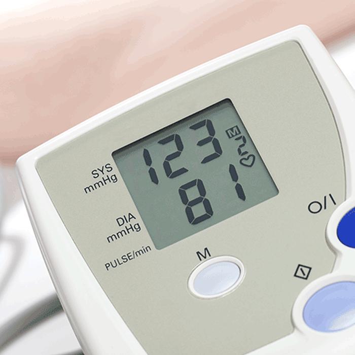 Blutdruckmessung in der Praxis für Kardiologie in Bayreuth | Dr. Rösler und Dr. Lachmann