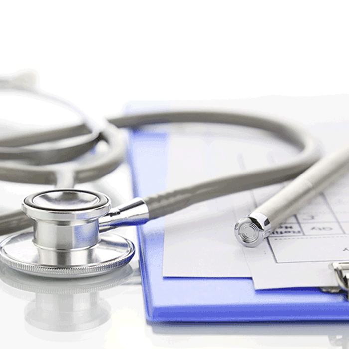 Stethoskop als Sinnbild für das Angebot von Spezialsprechstunden für Patienten mit chronischen Erkrankungen des Darms und der Leber | Praxis für Gastroenterologie und Kardiologie Bayreuth