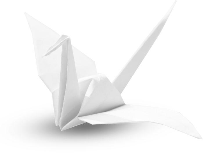 Origami-Kranich | Praxis für Gastroenterologie und Kardiologie in Bayreuth Dr. Rösler und Dr. Lachmann